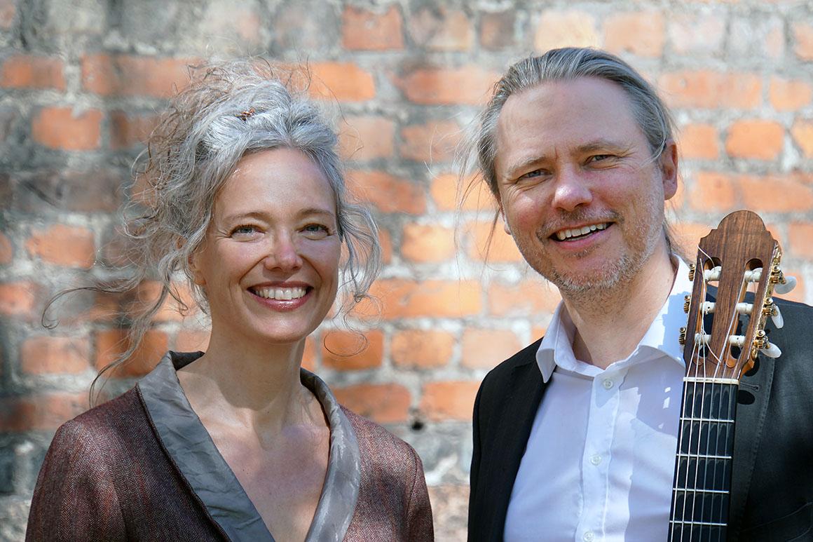 Hanne Skov og Mikkel Andersen
